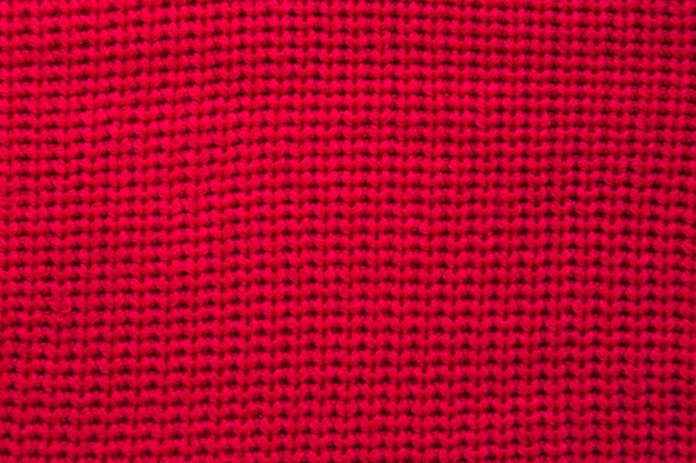 Full frame shot of red sweatshirt Free Photo