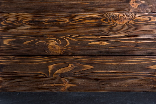 Full frame of wooden textured background Free Photo