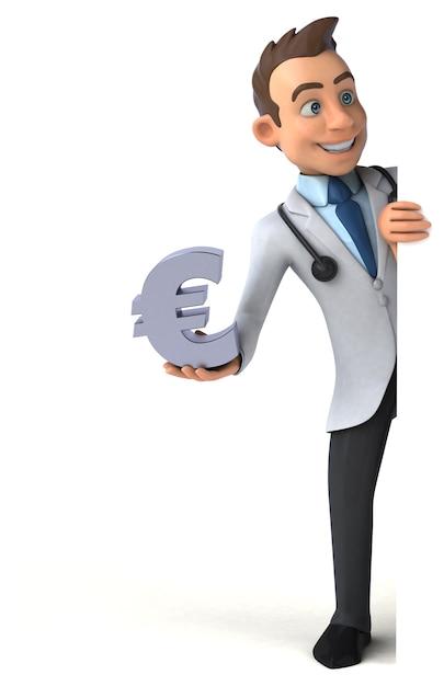 Веселый доктор Premium Фотографии
