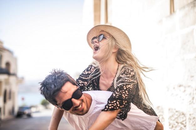 Fun in summer Premium Photo