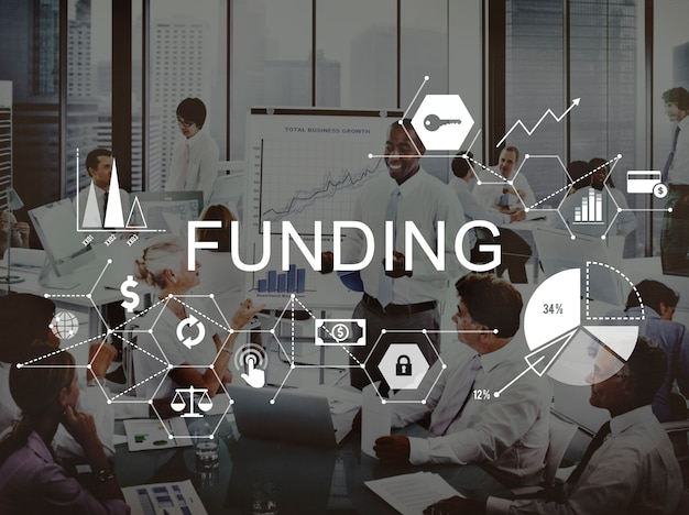 Funding invest financial money budget concept Free Photo