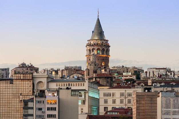 The galata tower Premium Photo