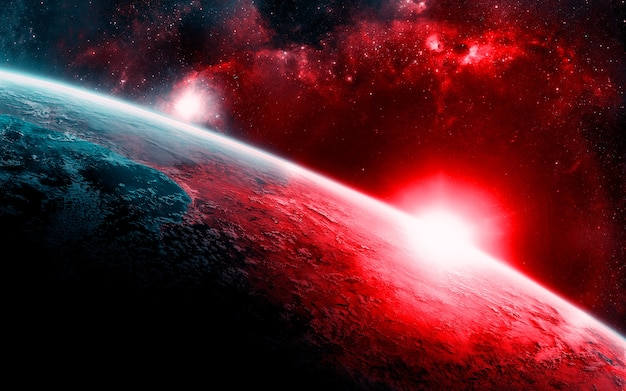 Galaxy Space Background Photo