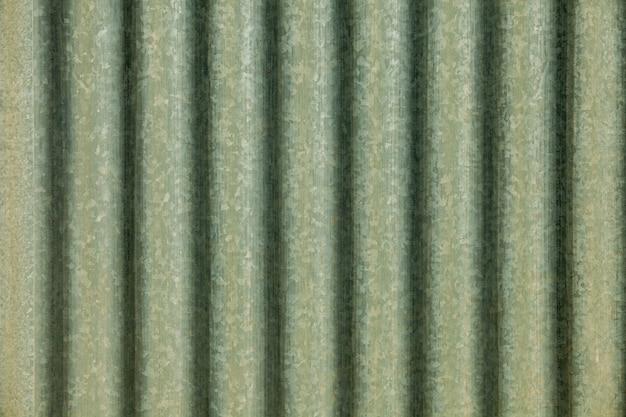 Galvanized profiled sheet metal texture Premium Photo