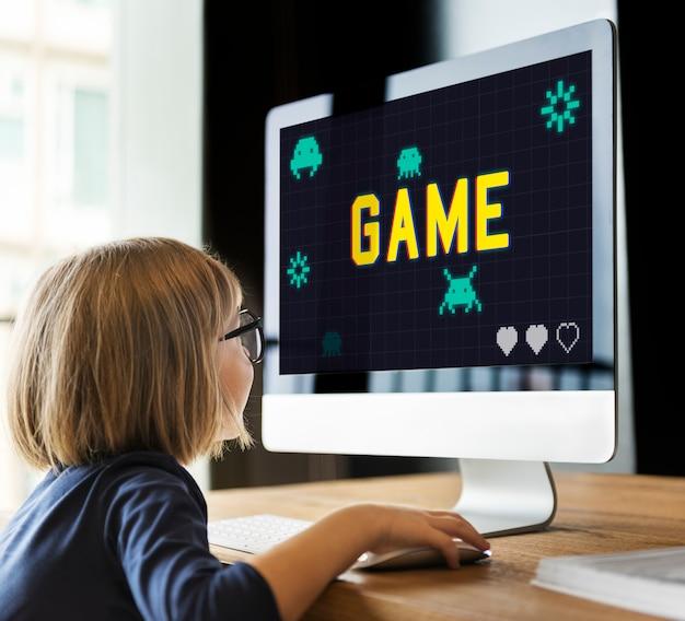 Game play entertainment fun relax leisure graphic Premium Photo