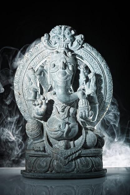 Ganesh indian god Premium Photo