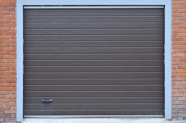 Garage shutterdoor texture Premium Photo