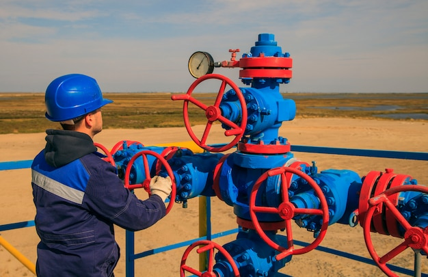 Gas conditioning equipment and valve armature Premium Photo