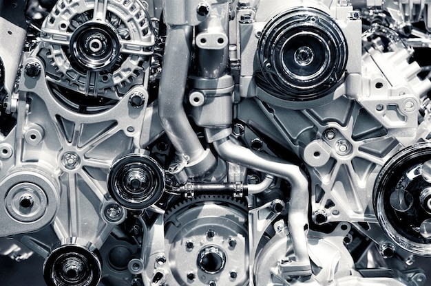 Газовый двигатель макрофотография Бесплатные Фотографии
