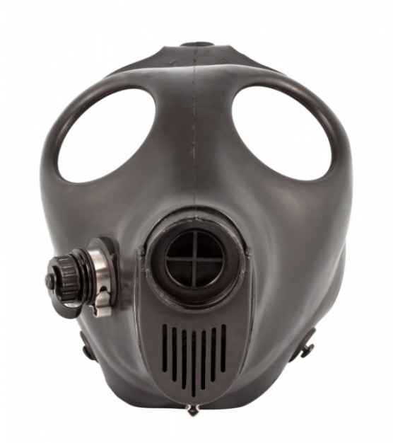 Gas mask   psd file Free Photo