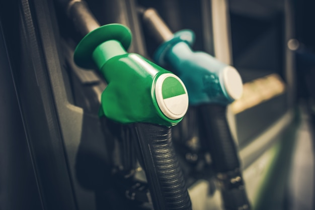Gasoline Pump Nozzles Free Photo