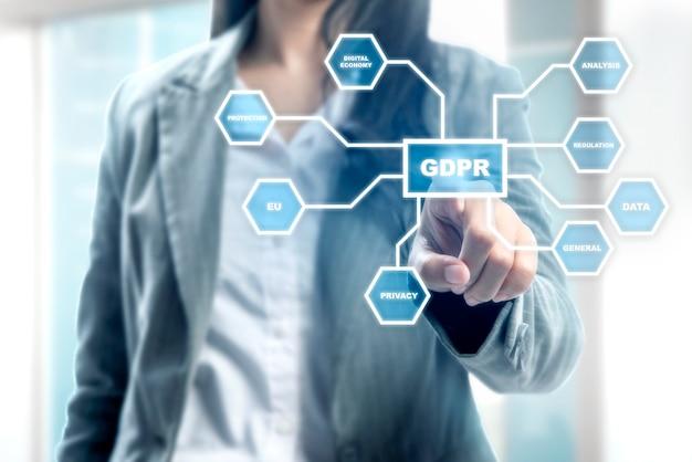 一般データ保護規制(gdpr)の概念 Premium写真