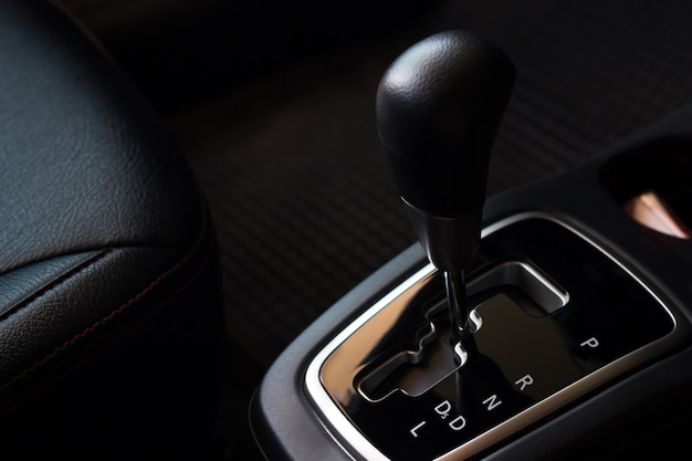 Gear automatic system in the car, change and repair before drive Premium Photo