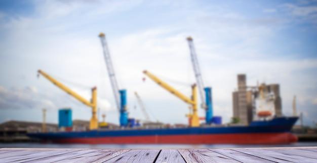 General cargo ship Premium Photo