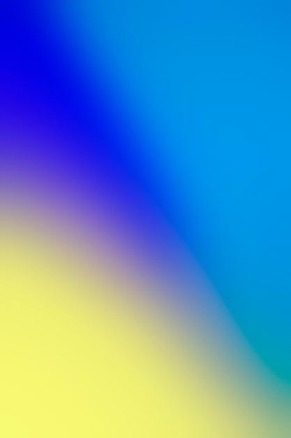 Gentle blending of vivid colors Free Photo