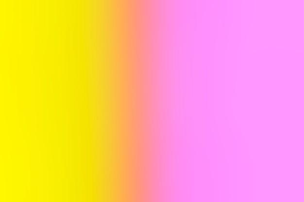 Нежный розовый и желтый в градиенте Бесплатные Фотографии