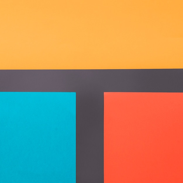 Geometric background with colorful straight forms Free Photo