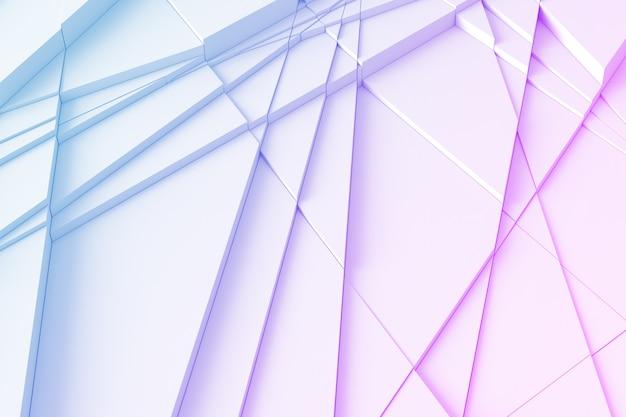 Geometric background with lines Premium Photo