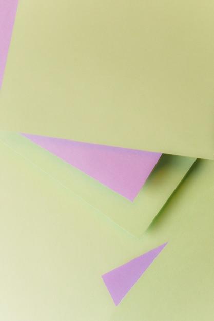 Geometric card paper shape backdrop Free Photo
