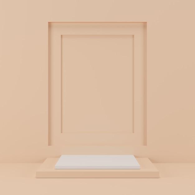 Геометрическая форма подиум для продукта. Premium Фотографии