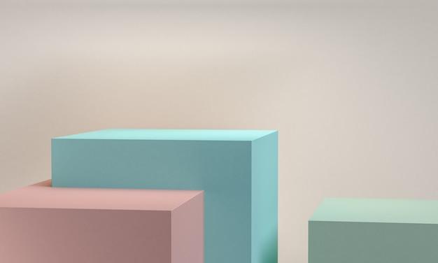 Geometrical abstract background Premium Photo