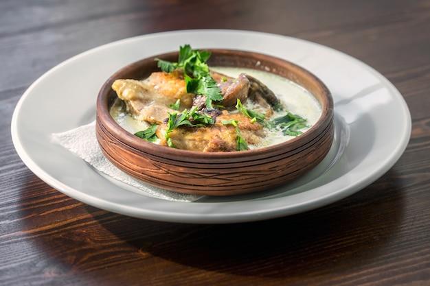 グルジアの手作り料理 Premium写真