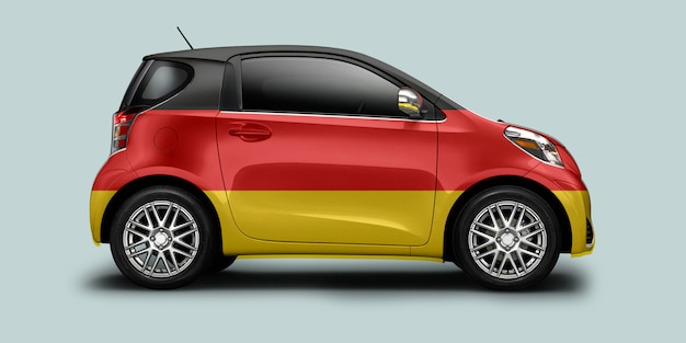 German flag car Premium Photo