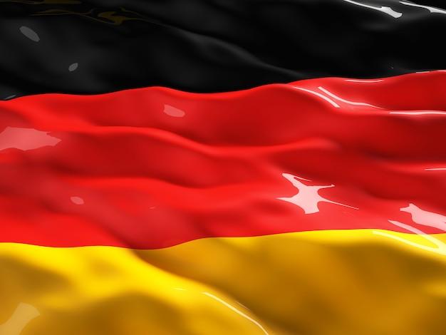 German flag Premium Photo