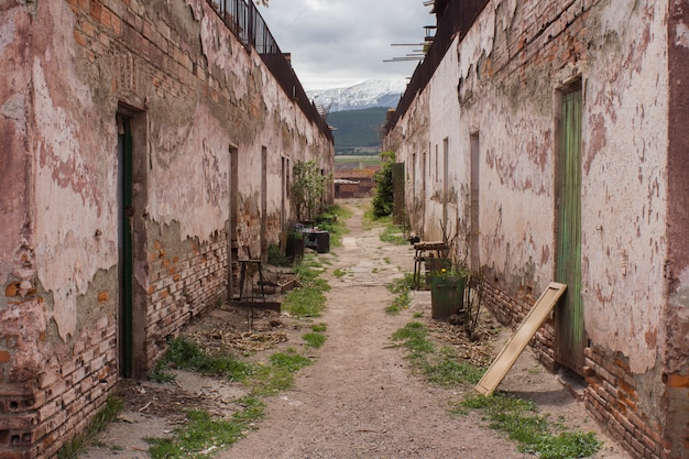 Ghost village Free Photo