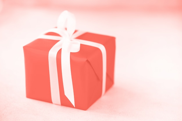 Gift box or present for christmas, new year, birthday party Premium Photo