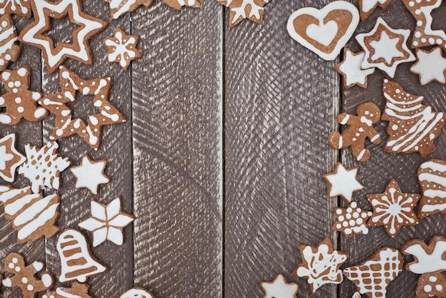 Gingerbreads는 크리스마스가 매우 가깝다는 것을 의미합니다. 무료 사진
