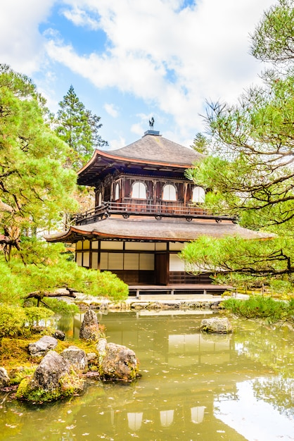Ginkakuji temple Free Photo