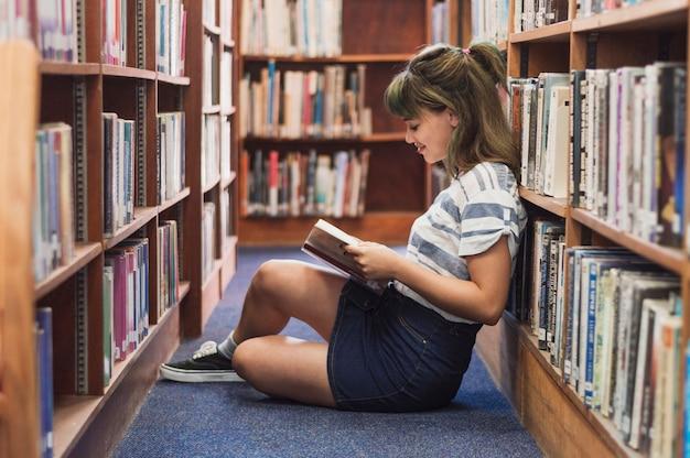 девушка модель работы библиотеки