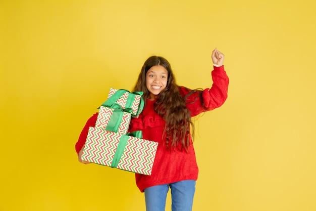 Дарить и получать подарки на рождественские праздники Бесплатные Фотографии