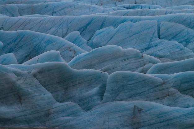 Ghiacciaio sotto la luce del sole in islanda - ottima immagine per sfondi e sfondi Foto Gratuite
