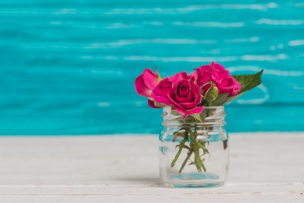 Freepik & Glass vase with beautiful flowers Photo | Free Download