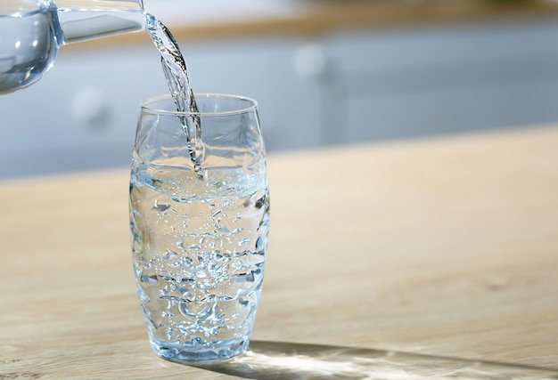 drink water to stay hydrated