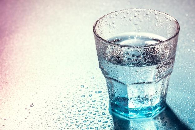 Glass of water Premium Photo