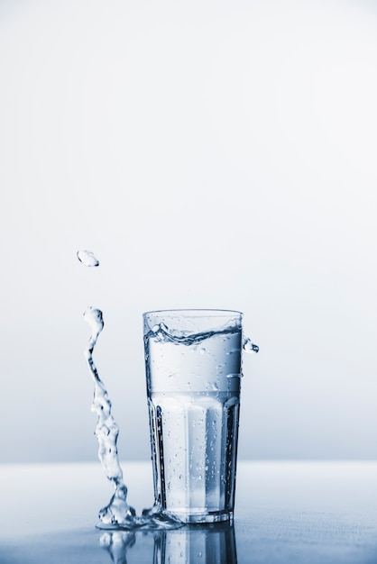 Glass of water Free Photo
