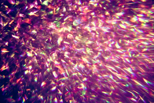 Glitter gold bokeh colorfull blurred abstract background for anniversary Premium Photo