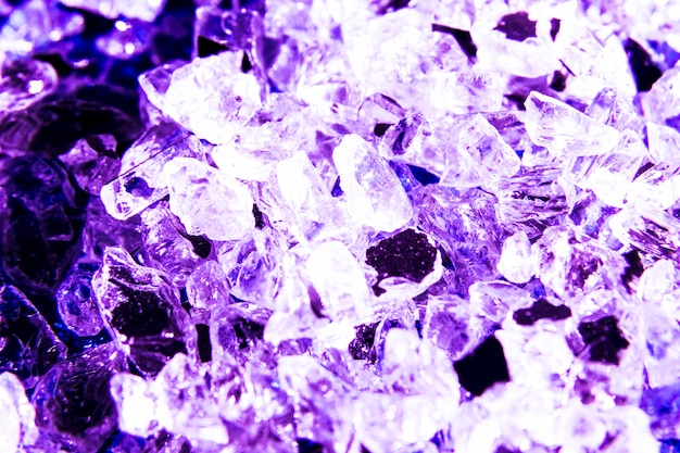 Glitter texture background with crystals Free Photo