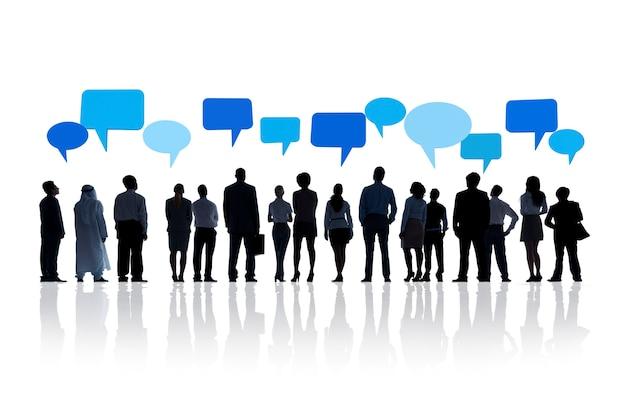 Global business communication Free Photo