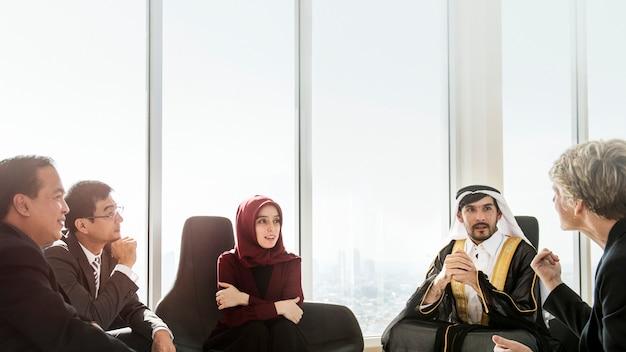 Global business meeting Premium Photo