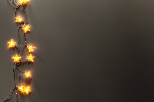 Glowing lights surface Premium Photo