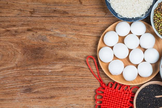 Glutinous rice balls?lantern festival in china