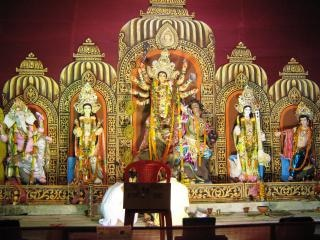 Free Photo Goddess Durga Puja Wallpaper