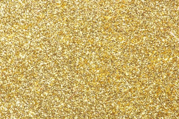 Gold glitter background Premium Photo