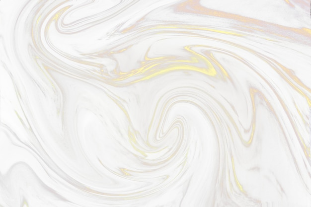 Gold marbled pattern Free Photo