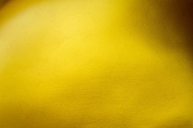 Golden cement texture wall at luxury architecture. Premium Photo