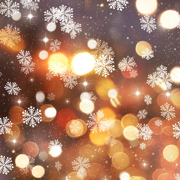 golden christmas background with - photo #4